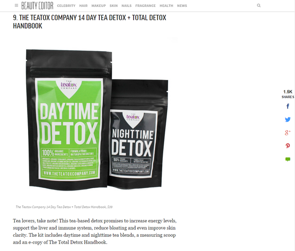Media Coverage | Affect Health Teatox