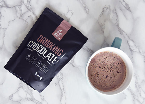 Drinking Chocolate, healthy hot chocolate, raw cacao, raw cacao powder