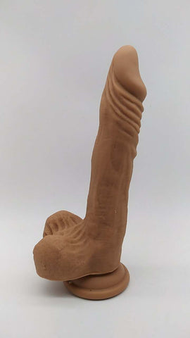Image of Realistic Veiny Suction cup dildo 8.4 inch