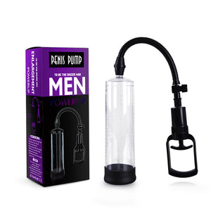 Power Up Mens Penis Pump 8 inches