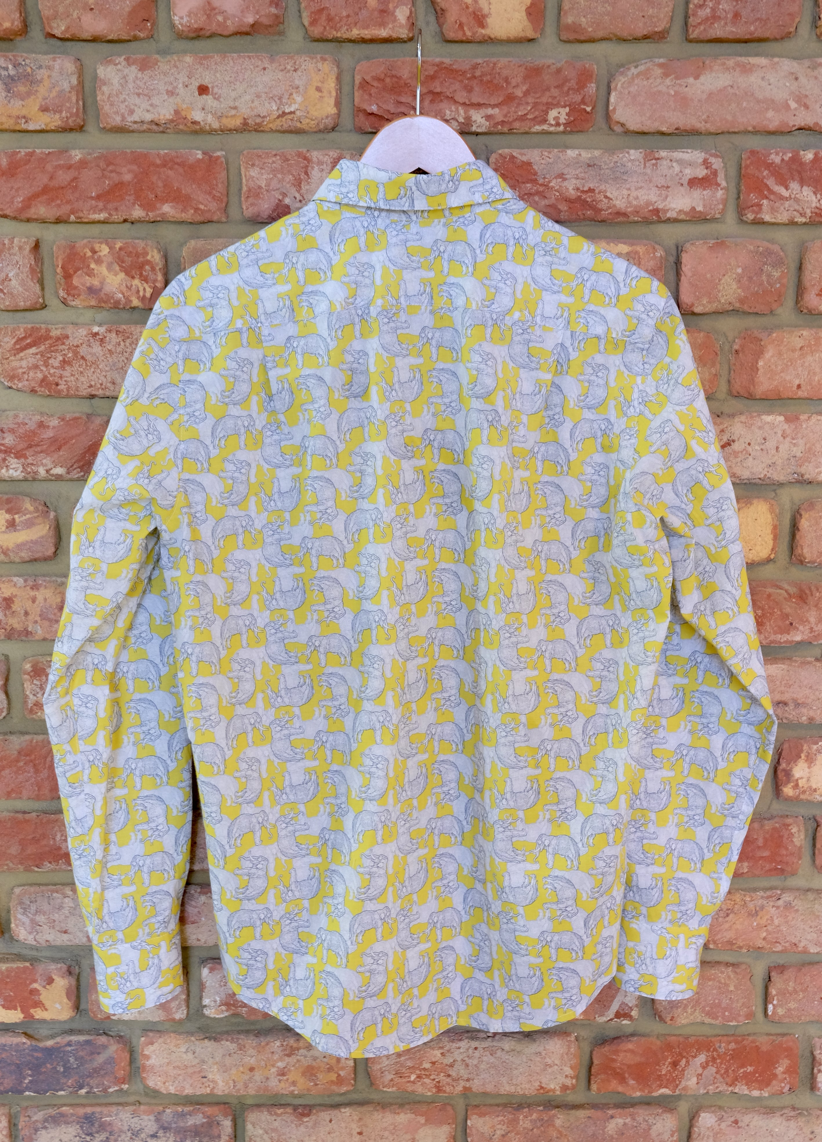 TEMPLE ELEPHANT COTTON SHIRT