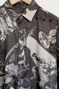JAZZ NIGHT SILK SHIRT