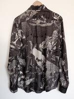 Load image into Gallery viewer, JAZZ NIGHT SILK SHIRT