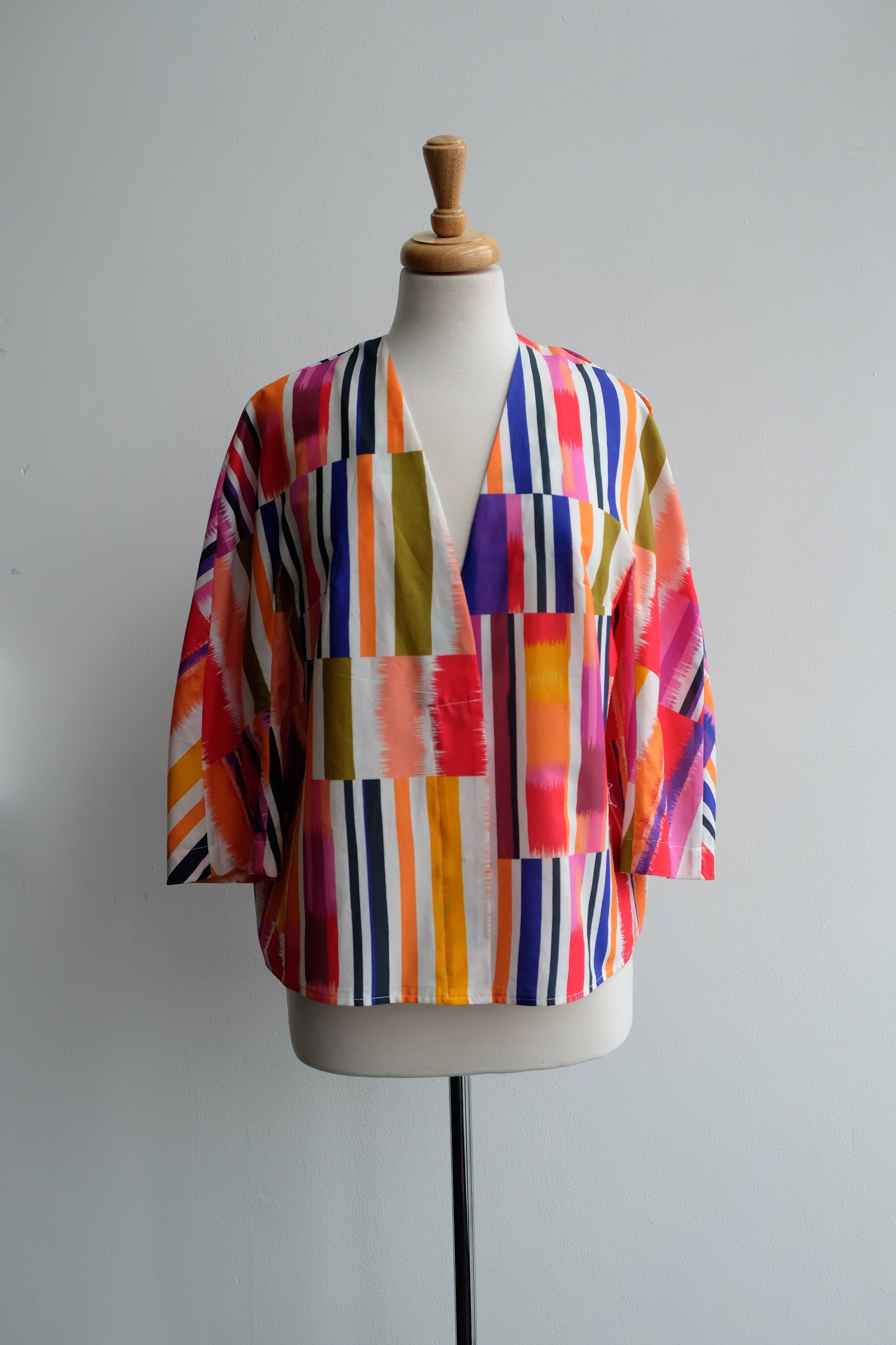 HIMEGIMI PRINTED COTTON TOP