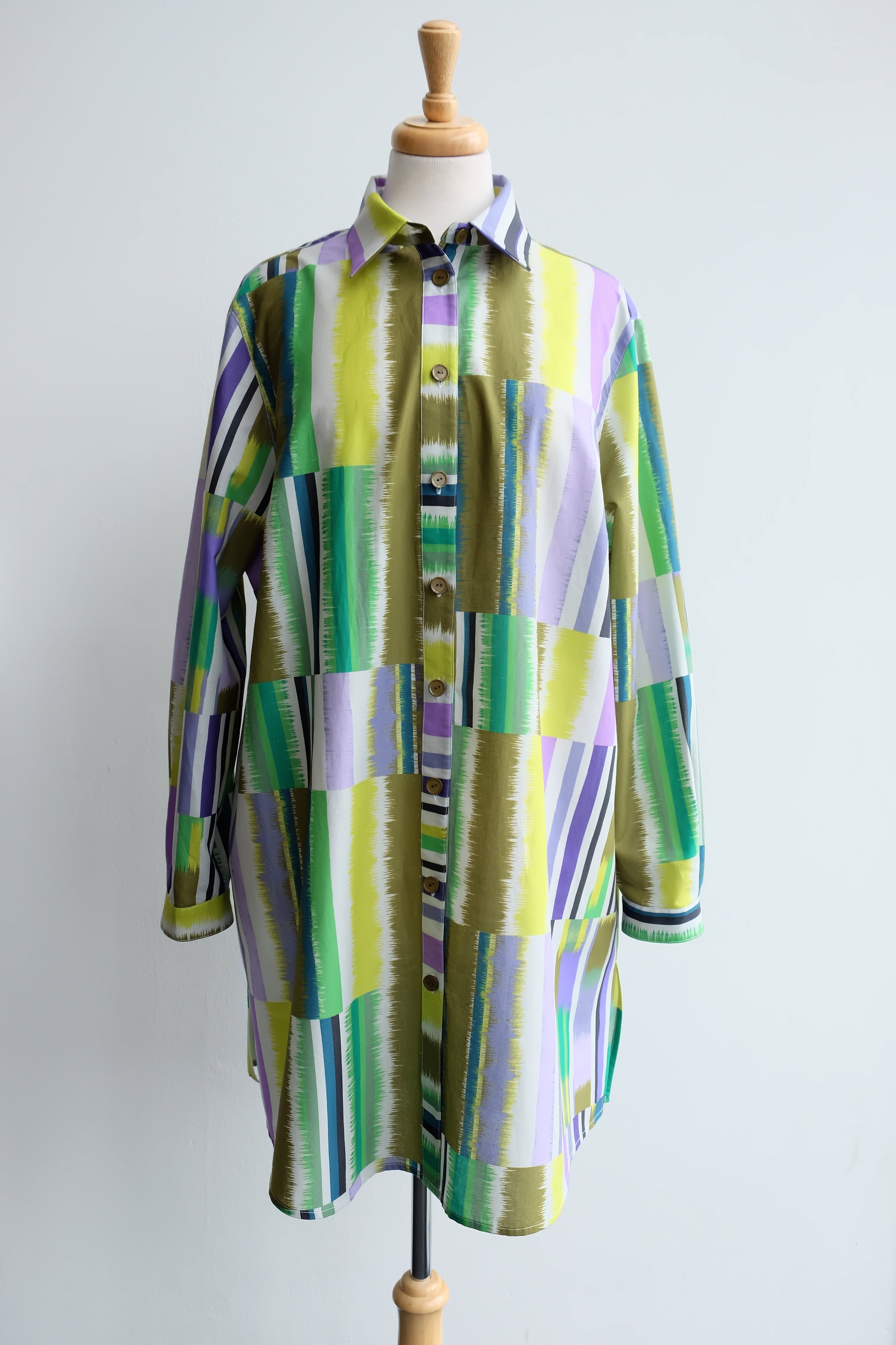 TANABATA baggy long shirt