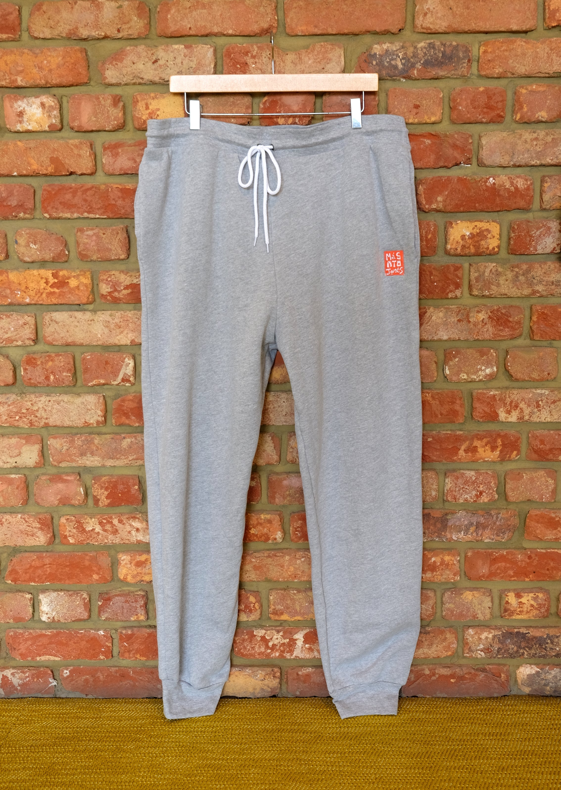Cotton Fleece Unisex Jogger Pants - LIGHT GREY HEATHER