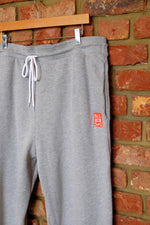 Load image into Gallery viewer, Cotton Fleece Unisex Jogger Pants - LIGHT GREY HEATHER