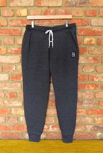 Cotton Fleece Unisex Jogger Pants - DARK GREY HEATHER