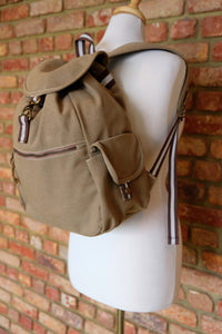 Sahara Adventure Canvas backpack