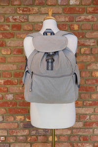 Light Grey Adventure Canvas backpack