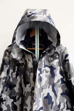 Load image into Gallery viewer, Snow Dust Camouflage Hoody wool Coat