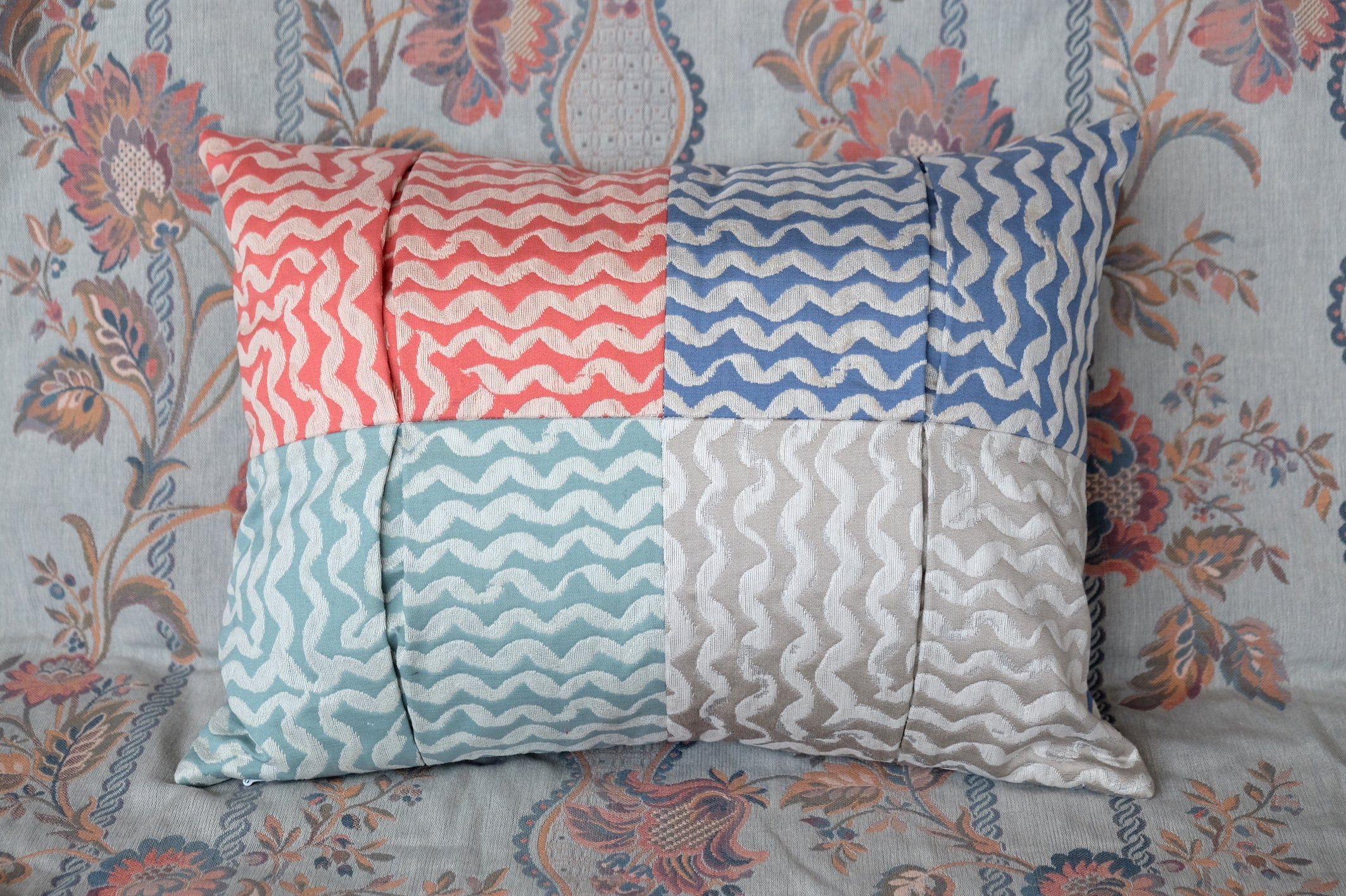 Four Forests Pleat Cushion