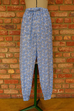 Load image into Gallery viewer, Blue Elephant Cotton Joggers