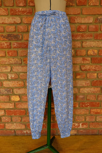 Blue Elephant Cotton Joggers