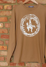 "Load image into Gallery viewer, Camel ""Rabbit Lore"" Long Sleeve Tee"