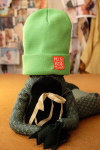 Mint Knitted turn-up beanie