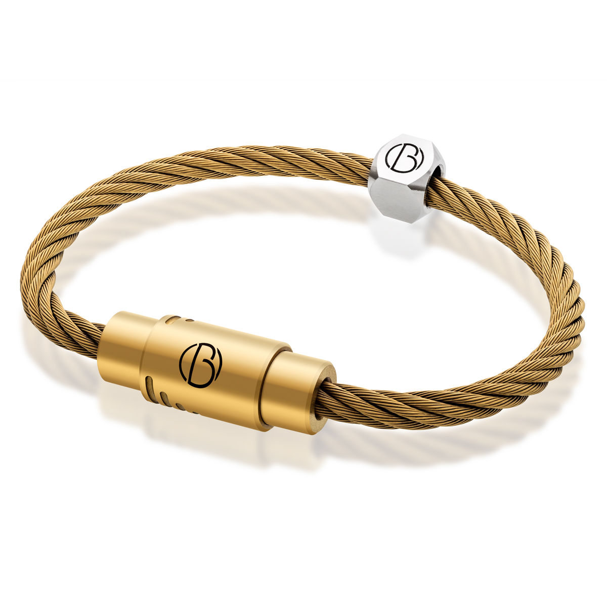 STAINLESS STEEL BRACELET: Matt Gold