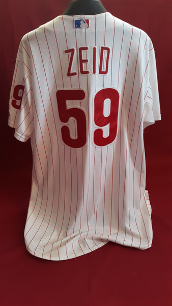 Josh Zeid Game Used & Team Issued Items
