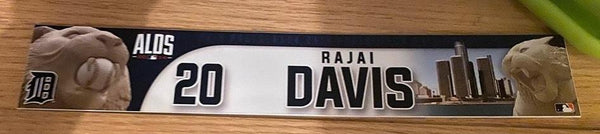 Rajai Davis Game Used & Team Issued Items