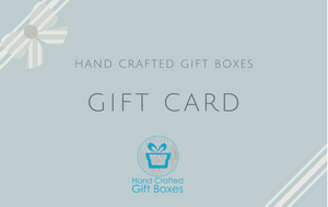 Hand Crafted Gift Boxes Gift Card
