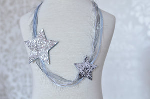 Falling Stars Necklace / Ice