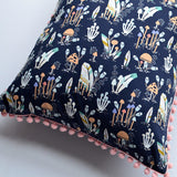 Woodland Pillow Cover in Forest Trail Mountain
