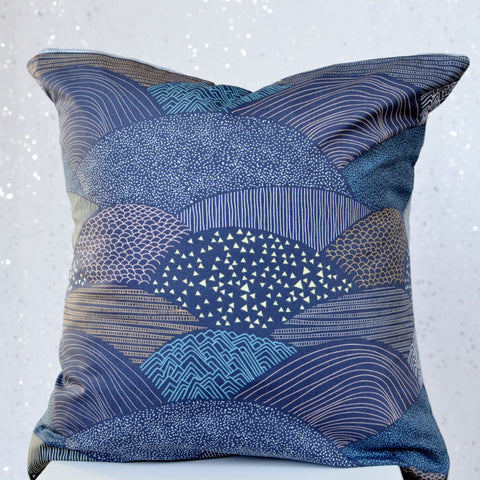 Navy Pillow Cover in Twilight