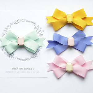 Large Gemstone Bow / Pastels