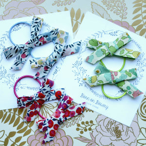 Liberty of London Bow Ponytail Holders