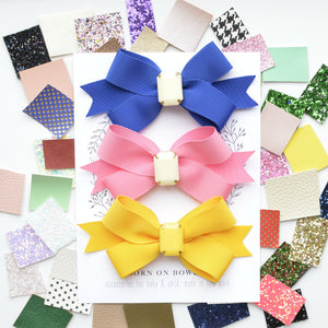 Large Gemstone Bow / Color Pop