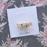 Little Charmer Clip, Cream