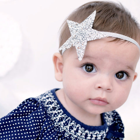 """Wish Upon a Star"" Elastic Headband"