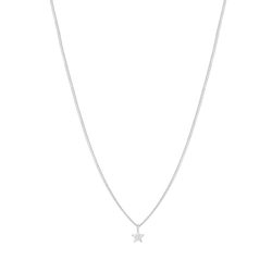 Astrid & Miyu Mystic Star Necklace in Silver
