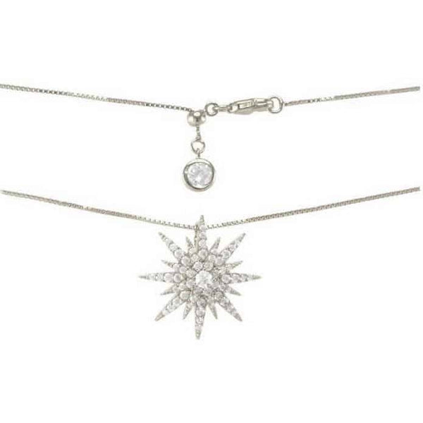 IcandiRocks Silver Rock Star Necklace