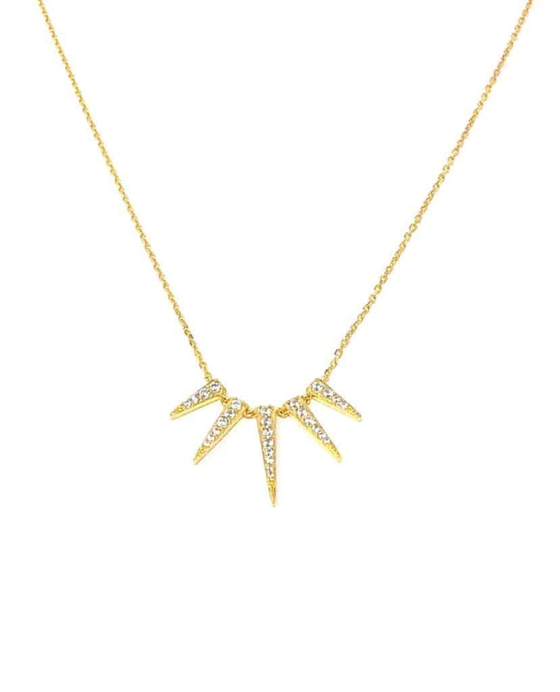 IcandiRocks Sunray Necklace Gold