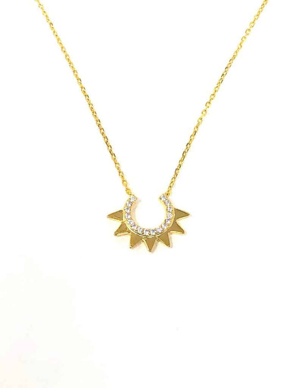 IcandiRocks Sundowner Gold Necklace