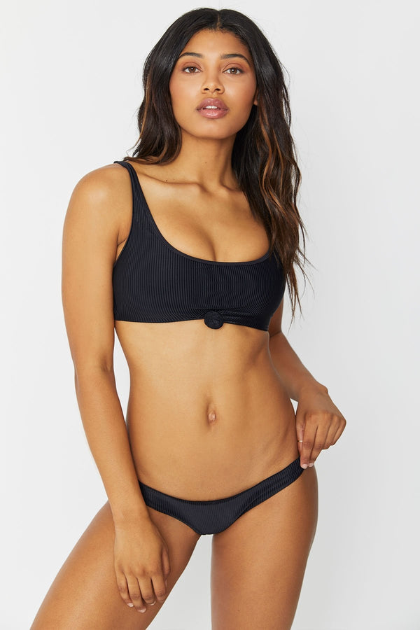 Frankies Bikinis Greer in Black