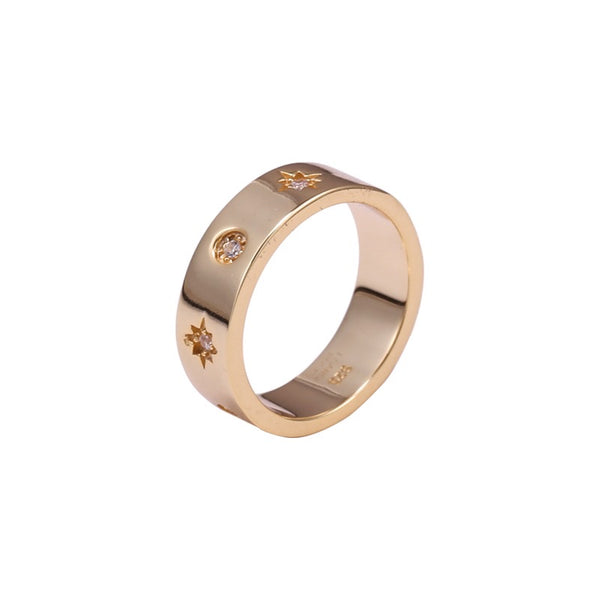 IcandiRocks Chloe Ring Gold
