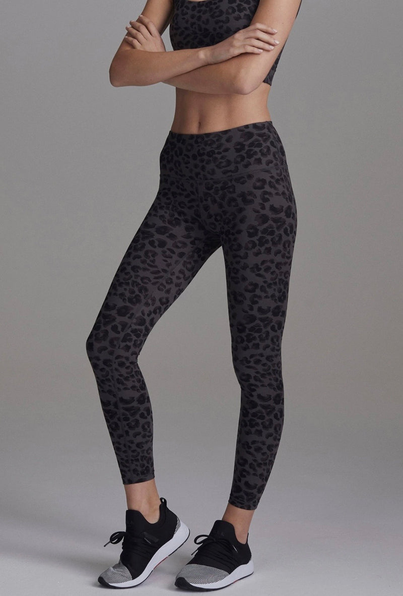Varley Century Legging Iron Grey Cheetah