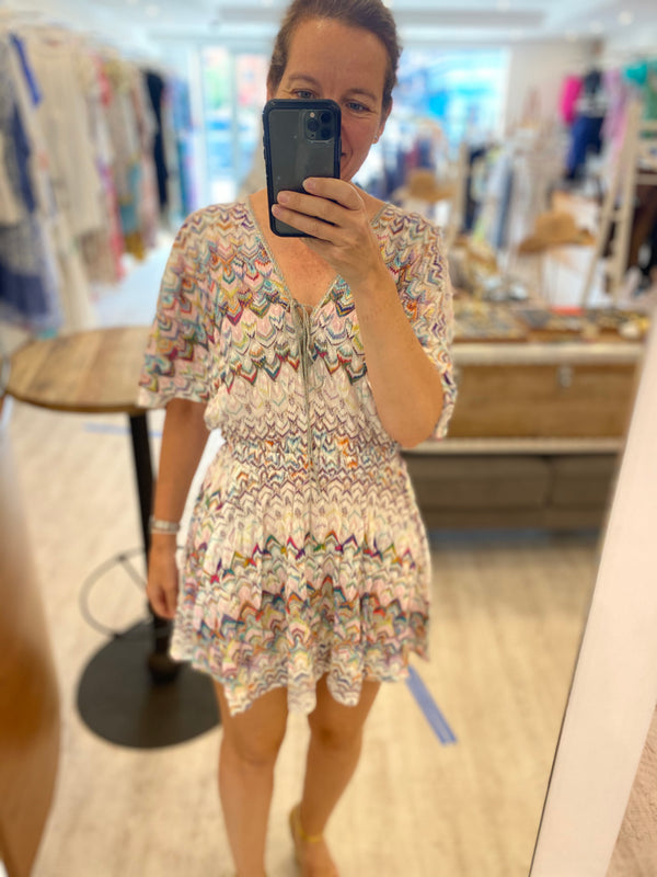 Missoni Pastel Minidress