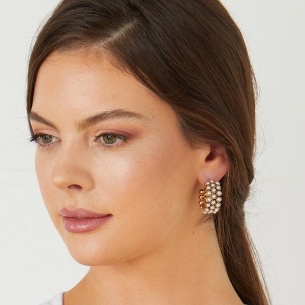 Ashiana London Kelly Hoop Earrings