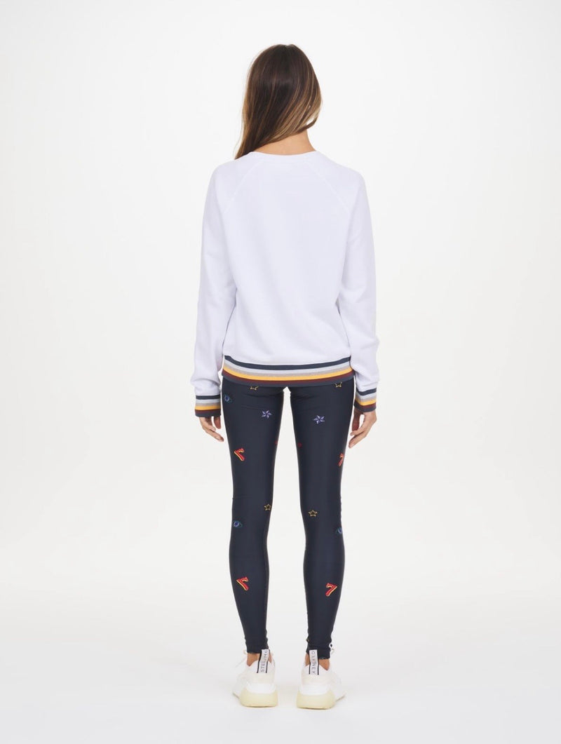 The Upside Bondi Crew Sweat White
