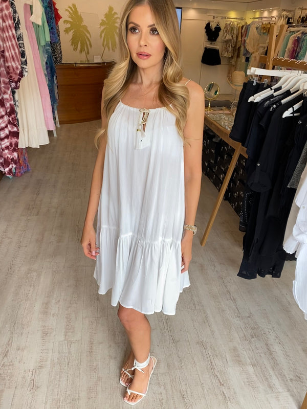 Lindsey Brown Toulouse White Dress