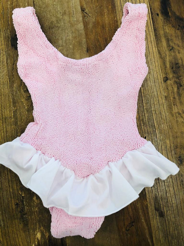 HunzaG Baby (Girl aged 1 - 6) Denise One Piece Baby Pink
