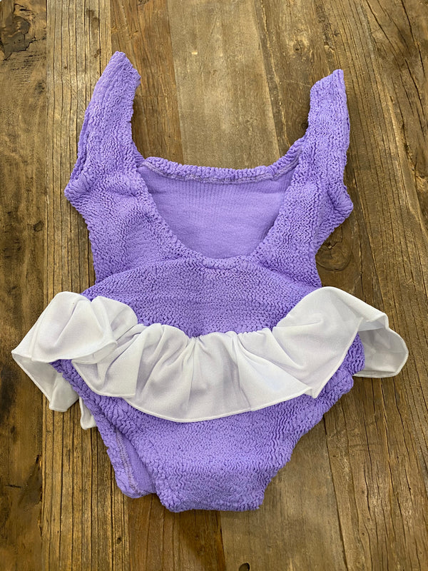 HunzaG Baby (Girl aged 1 - 6) Denise One Piece Lilac