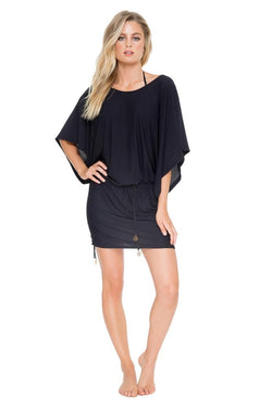 Luli Fama Cosita Buena South Beach Dress in Black