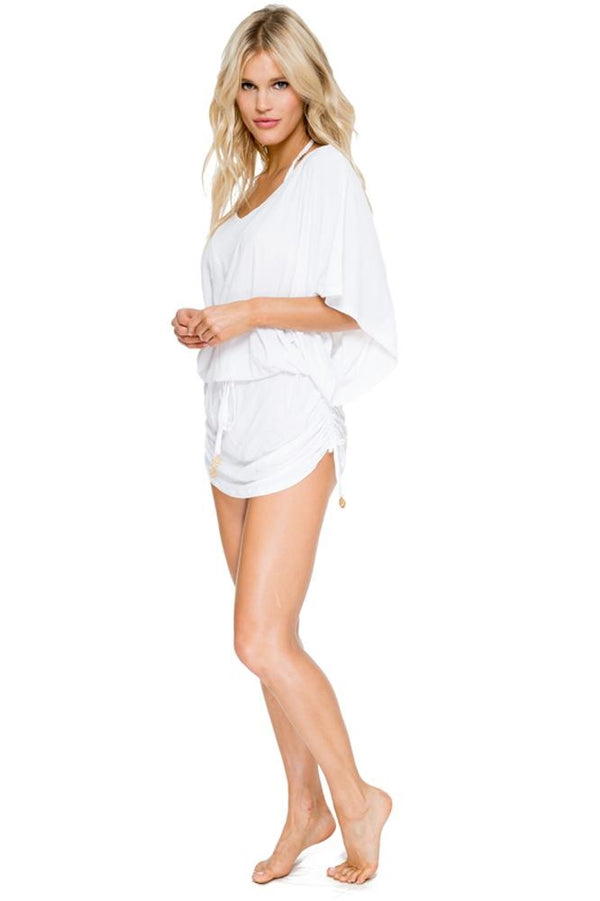 Luli Fama Cosita Buena South Beach Dress in White