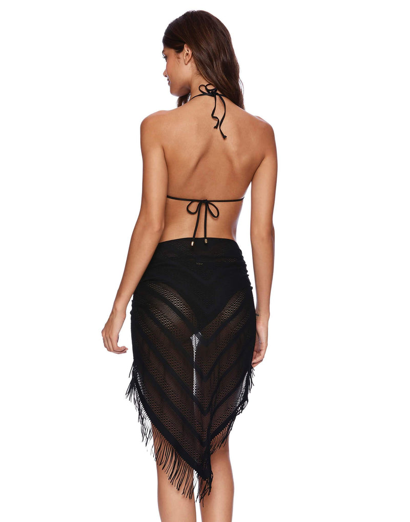 Beach Bunny Indian Summer Pareo Black