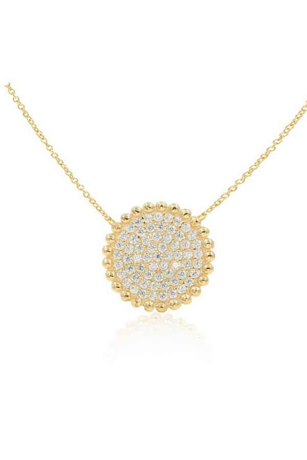 IcandiRocks La Luna Necklace Gold