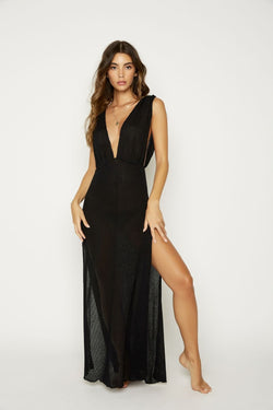 Beach Bunny Annika Maxi Dress black